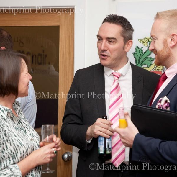 Illingworth McNair. Bingley Main St office opening-