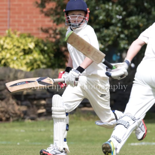 Under 15's. Pudsey Congs CC v Pudsey St Lawrence CC. 22-05-2016