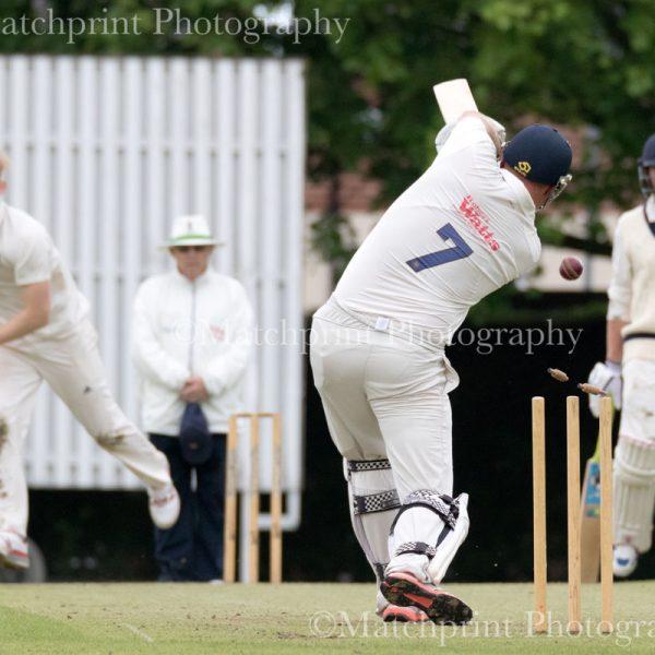 First XI. Pudsey Congs CC v Cleckheaton CC. 18-06-2016