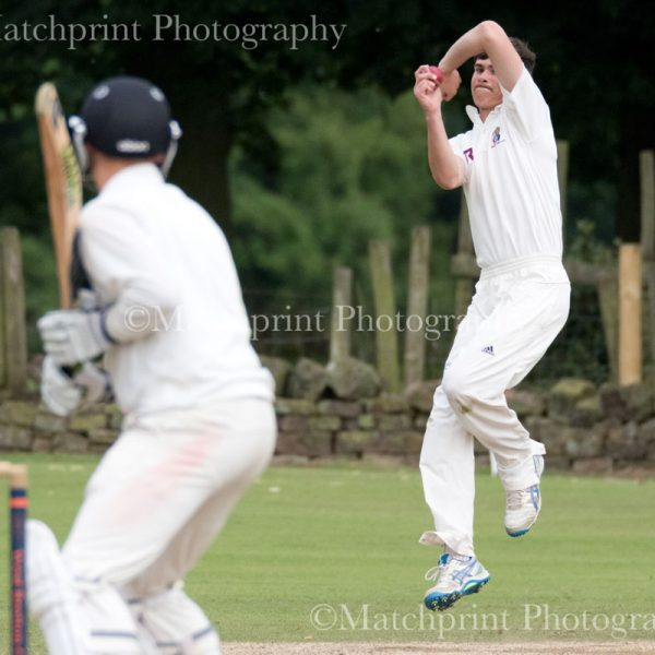 Joe Lumb Under 19's Cricket. Barnsley v Bradford. 24-07-2016.