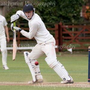 Joe Lumb Under 19's Cricket. Barnsley v Bradford. 24-07-2016.