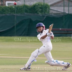 Yorkshire Under 12's v Nottinghamshire Under 12's. 27-07-2016.