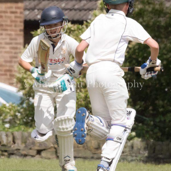 Yorkshire Under 12's v Nottinghamshire Under 12's. 27-07-2016.