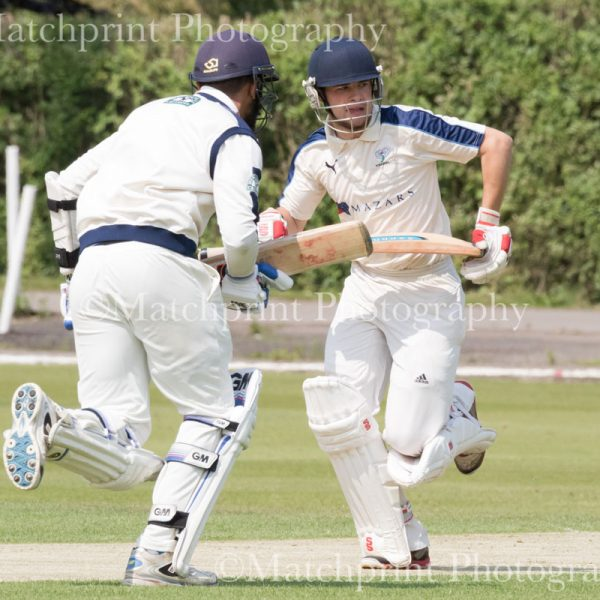 Yorkshire Under 19's v Lancashire Under 19's. 20-21st July 2016.
