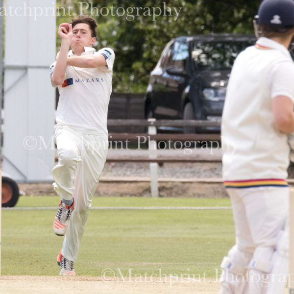 Under 17's County Cricket. Durham v Yorkshire. 2nd-4th August 2016.